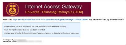 utminternetaccessblock