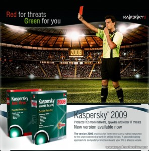 Kaspersky 2009 is available now!