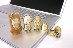 Freaking Stylish USB Flash Drives from MIMOBOT