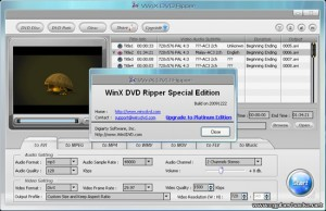 WinX DVD Ripper Special Edition – Free Download on 1st January 2010