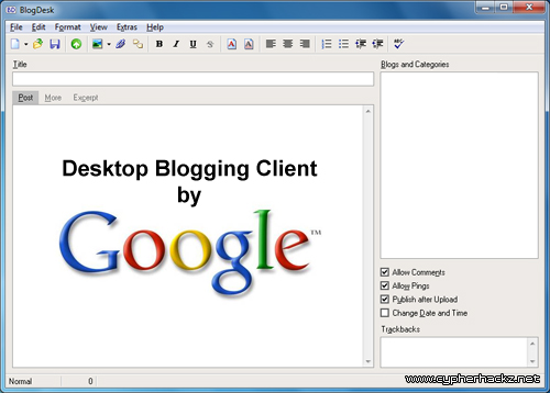 google-desktop-blogging-client